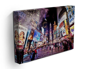 LED signs Broadway Theaters Canvas Print or Poster - Canvas Art Rocks - 3