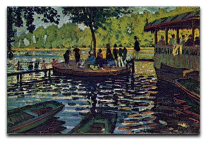 La Grenouillare by Monet Canvas Print or Poster
