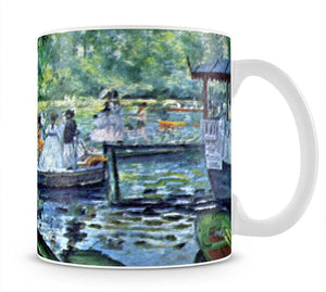 La Grenouillere1 by Renoir Mug - Canvas Art Rocks - 1