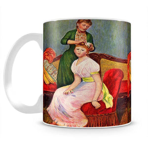 La coiffure by Renoir Mug - Canvas Art Rocks - 2