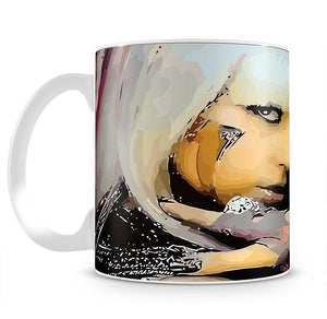 Lady Gaga Mug - Canvas Art Rocks - 2