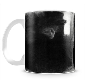 Lady with a hat and Cape by Klimt Mug - Canvas Art Rocks - 2