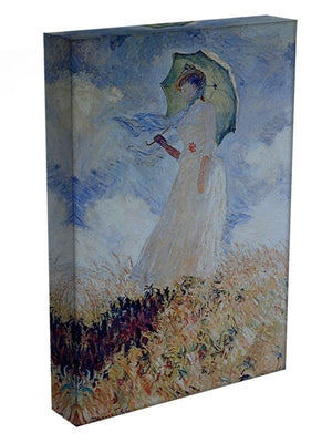 Lady with umbrella Canvas Print & Poster - Canvas Art Rocks - 3