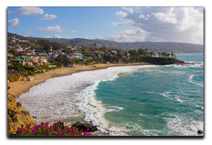 Laguna Beach Crescent Cove Canvas Print or Poster - Canvas Art Rocks - 1
