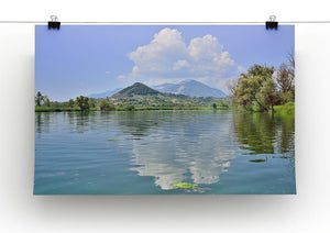 Lake of Posta Fibreno Canvas Print or Poster - Canvas Art Rocks - 2