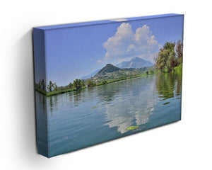 Lake of Posta Fibreno Canvas Print or Poster - Canvas Art Rocks - 3