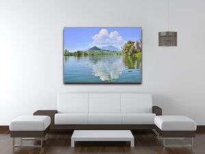 Lake of Posta Fibreno Canvas Print or Poster - Canvas Art Rocks - 4