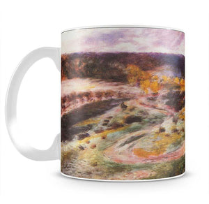 Landscape in Wargemont by Renoir Mug - Canvas Art Rocks - 2