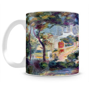 Landscape with a view of the Sacred Heart by Renoir Mug - Canvas Art Rocks - 2
