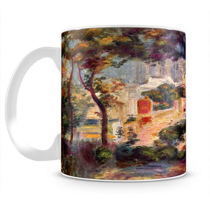 Landscape with the view of Sacre Coeur by Renoir Mug - Canvas Art Rocks - 2