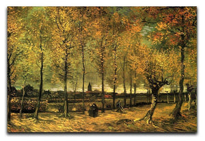 Lane with Poplars by Van Gogh Canvas Print & Poster  - Canvas Art Rocks - 1