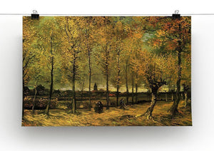 Lane with Poplars by Van Gogh Canvas Print & Poster - Canvas Art Rocks - 2
