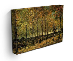 Lane with Poplars by Van Gogh Canvas Print & Poster - Canvas Art Rocks - 3