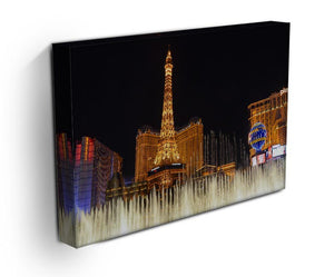 Las Vegas Paris Statue Print - Canvas Art Rocks - 3