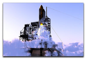 Launch a spacecraft into space Canvas Print or Poster  - Canvas Art Rocks - 1