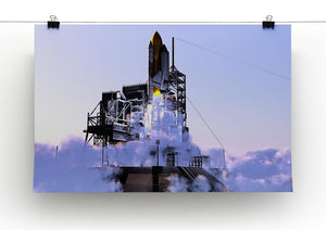Launch a spacecraft into space Canvas Print or Poster - Canvas Art Rocks - 2