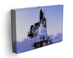 Launch a spacecraft into space Canvas Print or Poster - Canvas Art Rocks - 3