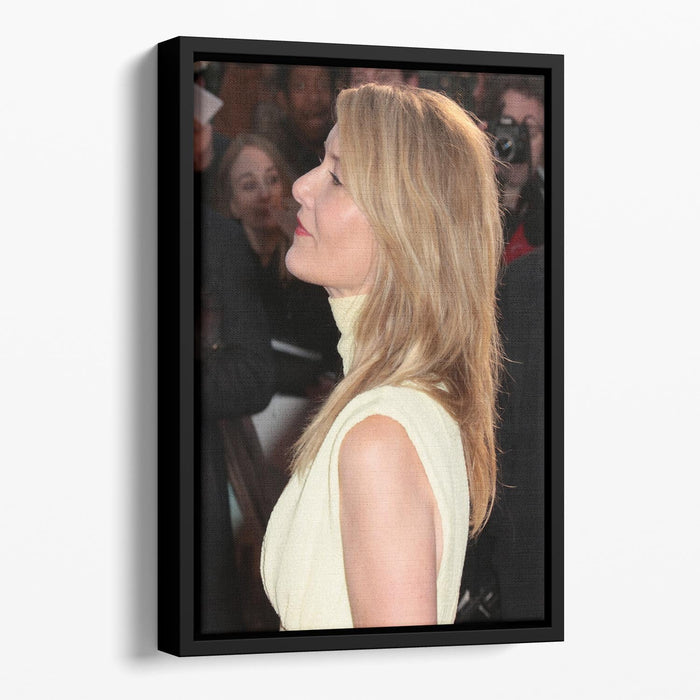 Laura Dern Floating Framed Canvas