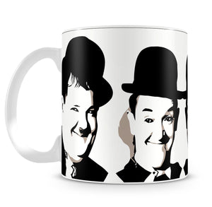 Laurel and Hardy Mug - Canvas Art Rocks - 4