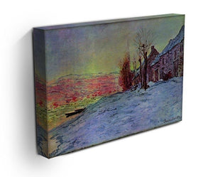 Lava Court sunshine and snow by Monet Canvas Print & Poster - Canvas Art Rocks - 3
