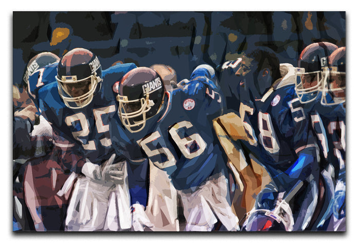 Lawrence Taylor New York Giants Canvas Print or Poster