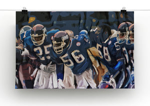 Lawrence Taylor New York Giants Canvas Print - Canvas Art Rocks - 2