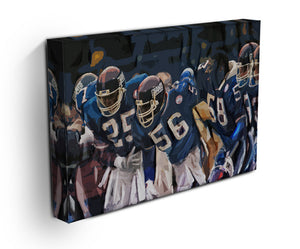 Lawrence Taylor New York Giants Canvas Print - Canvas Art Rocks - 3