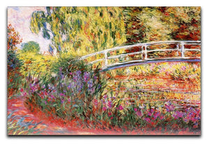 Le Bassin aux Nympheas by Monet Canvas Print & Poster  - Canvas Art Rocks - 1