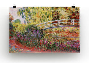 Le Bassin aux Nympheas by Monet Canvas Print & Poster - Canvas Art Rocks - 2