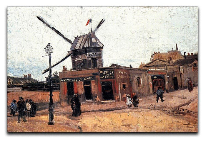 Le Moulin de la Galette 3 by Van Gogh Canvas Print or Poster