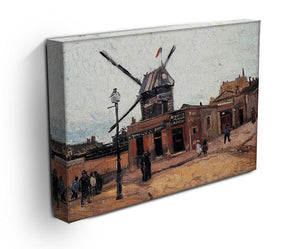 Le Moulin de la Galette 3 by Van Gogh Canvas Print & Poster - Canvas Art Rocks - 3