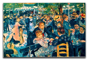 Le Moulin de la Galette Canvas Print & Poster  - Canvas Art Rocks - 1