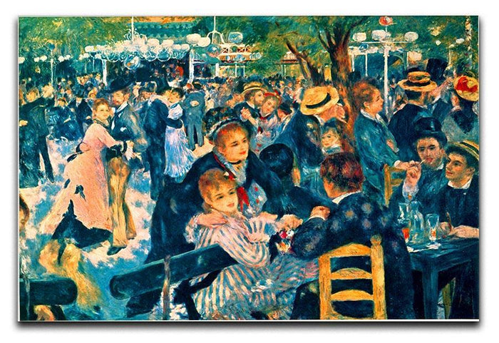 Le Moulin de la Galette Canvas Print or Poster