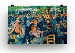 Le Moulin de la Galette Canvas Print & Poster - Canvas Art Rocks - 2