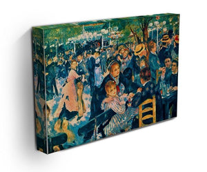 Le Moulin de la Galette Canvas Print & Poster - Canvas Art Rocks - 3