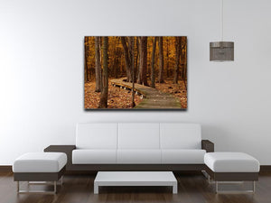 Autumn Fall Print - Canvas Art Rocks - 4