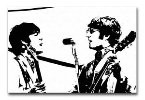 Lennon & McCartney Print - Canvas Art Rocks - 1