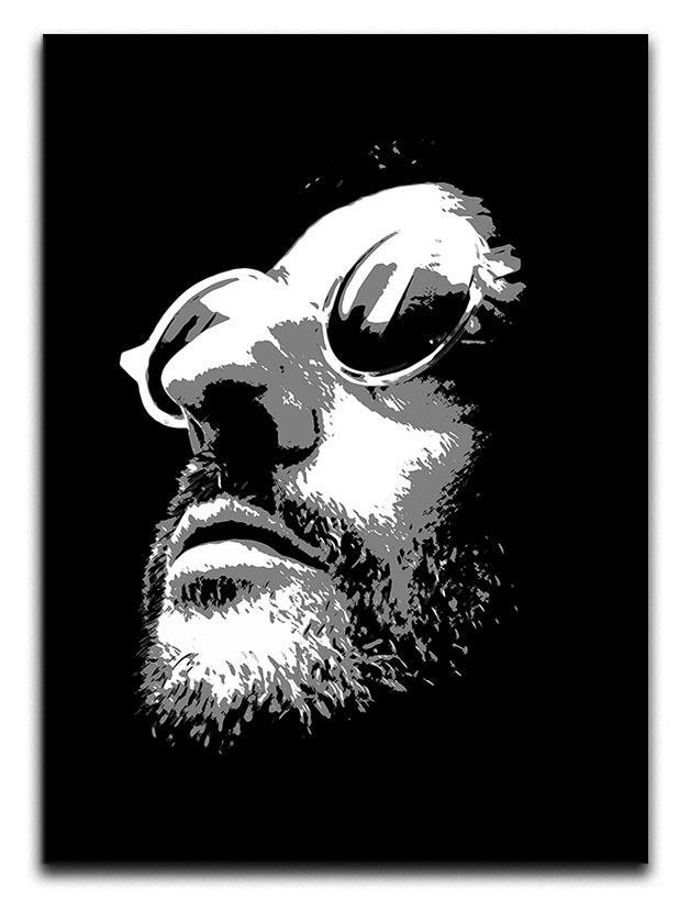 Leon Pop Art Canvas Print or Poster