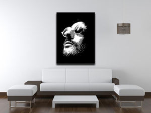 Leon Pop Art Canvas Print or Poster - Canvas Art Rocks - 4