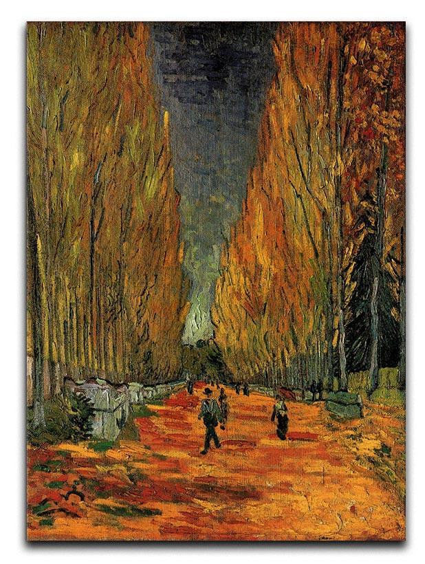 Les Alyscamps 3 by Van Gogh Canvas Print or Poster