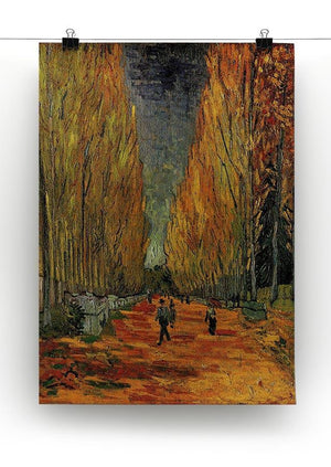 Les Alyscamps 3 by Van Gogh Canvas Print & Poster - Canvas Art Rocks - 2