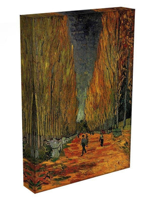 Les Alyscamps 3 by Van Gogh Canvas Print & Poster - Canvas Art Rocks - 3