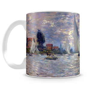 Les Barques by Monet Mug - Canvas Art Rocks - 4
