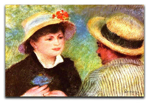 Les Canotiers by Renoir Canvas Print or Poster  - Canvas Art Rocks - 1