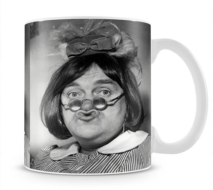 Les Dawson in drag Mug