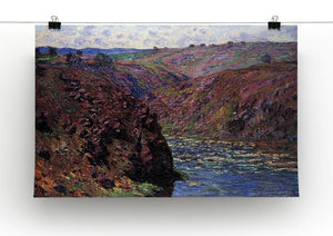 Les Eaux Semblantes in the sunlight by Monet Canvas Print & Poster - Canvas Art Rocks - 2