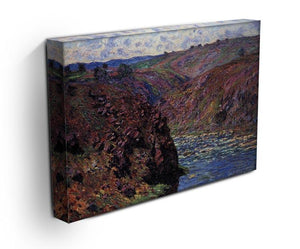 Les Eaux Semblantes in the sunlight by Monet Canvas Print & Poster - Canvas Art Rocks - 3