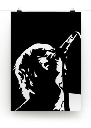 Liam Gallagher Oasis Print - Canvas Art Rocks - 2