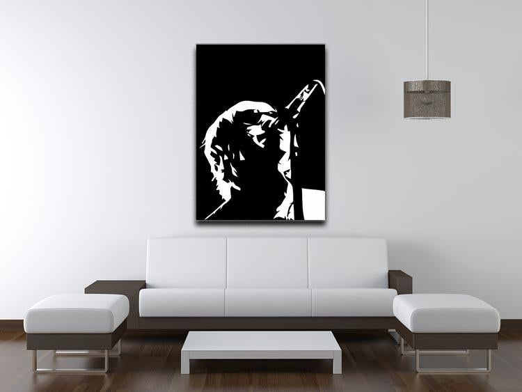 Liam Gallagher Oasis Canvas Print or Poster