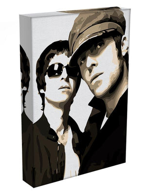 Liam and Noel Gallagher Oasis Canvas Print or Poster